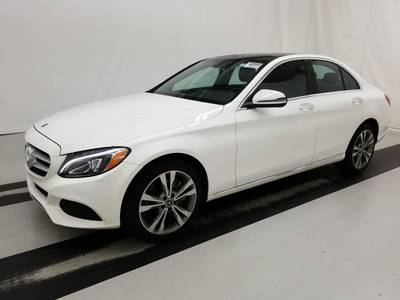 Used MERCEDES-BENZ C-CLASS 2018 WEST-PALM C300W4