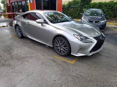 Used LEXUS RC 2016 HOLLYWOOD 200T F SPORT