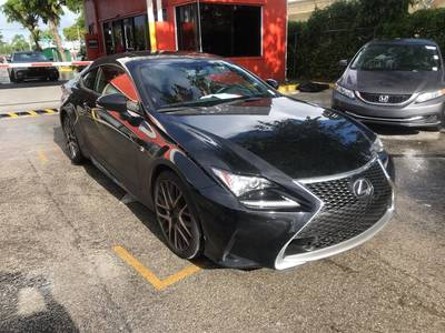 Used Lexus Rc 2016 MIAMI 200T F SPORT