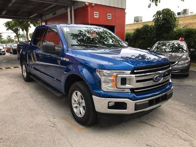 Used FORD F-150 2018 HOLLYWOOD XLT