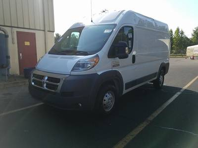 Used RAM PROMASTER-CARGO-VAN 2016 MIAMI 2500 HIGH ROOF 136