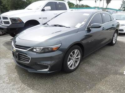 Used CHEVROLET MALIBU 2016 MARGATE LT