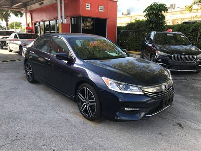 Used Honda Accord-Sedan 2017 HOLLYWOOD SPORT SE