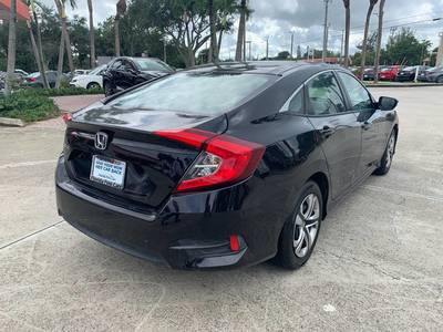 Used Honda Civic-Sedan 2018 WEST PALM LX