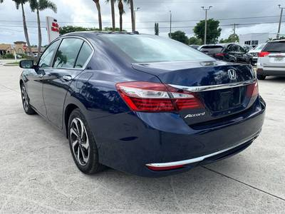 Used Honda Accord-Sedan 2017 WEST PALM EX-L