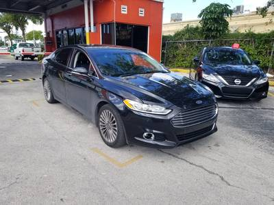 Used FORD FUSION 2015 MIAMI TITANIUM