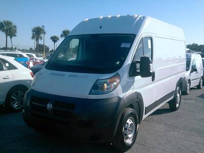 "Used RAM PROMASTER-CARGO-VAN 2018 MIAMI 2500 HIGH ROOF 136"" WB"