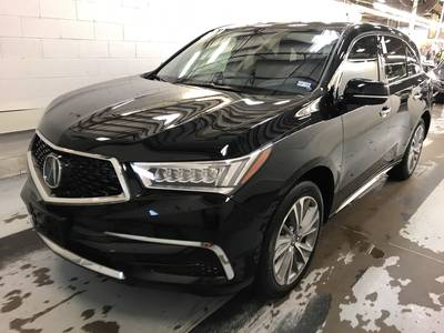 Used ACURA MDX 2017 HOLLYWOOD TECHNOLOGY PKG