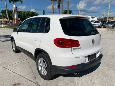 Used Volkswagen Tiguan 2012 WEST PALM SELECT TRIM