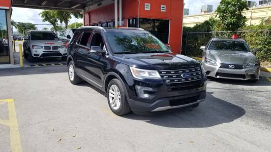 Used FORD EXPLORER 2017 MIAMI XLT