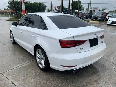 Used Audi A3-Sedan 2017 WEST PALM PREMIUM