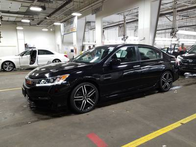 Used HONDA ACCORD-SEDAN 2017 MARGATE SPORT