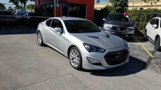 Used HYUNDAI GENESIS-COUPE 2016 HOLLYWOOD 3.8L BASE