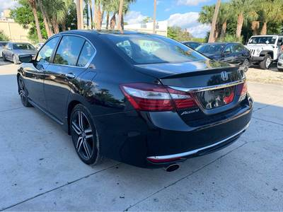 Used Honda Accord-Sedan 2017 WEST PALM SPORT SE