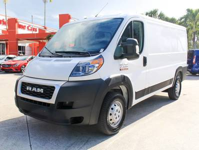 "Used RAM PROMASTER-CARGO-VAN 2019 WEST PALM 1500 LOW ROOF 136"" WB"