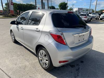 Used Toyota Yaris 2014 WEST PALM SELECT TRIM