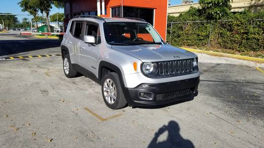 Used JEEP RENEGADE 2016 MARGATE LATITUDE