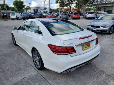 Used MERCEDES-BENZ E-CLASS 2017 WEST PALM E 400