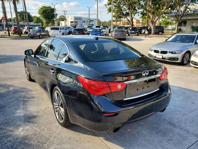 Used INFINITI Q50 2016 WEST PALM 3.0T SPORT