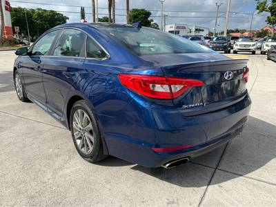 Used Hyundai Sonata 2016 WEST PALM 2.4L SPORT