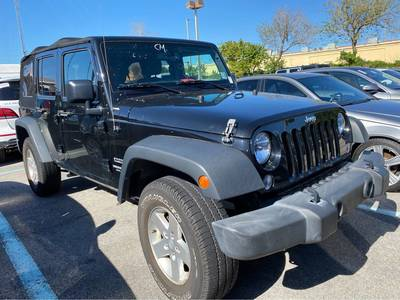 Used Jeep Wrangler-Unlimited 2016 MARGATE SPORT