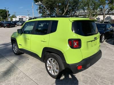 Used Jeep Renegade 2018 WEST PALM LATITUDE