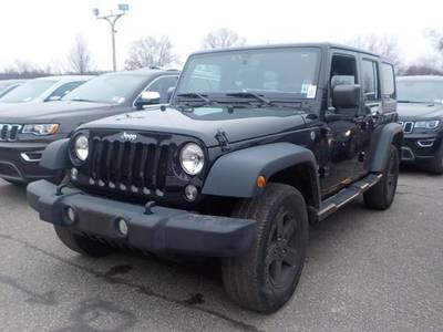 Used JEEP WRANGLER-UNLIMITED 2016 MIAMI SPORT