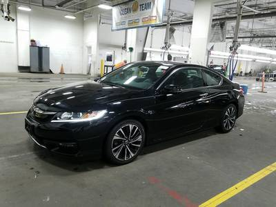 Used HONDA ACCORD-COUPE 2017 WEST PALM EX-L