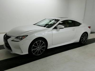 Used LEXUS RC 2017 MIAMI RC 300