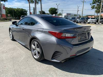 Used Lexus RC-200t 2016 WEST PALM