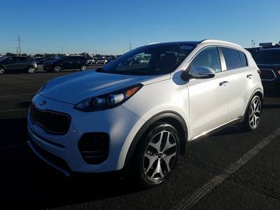 Used KIA SPORTAGE 2017 WEST PALM SX TURBO