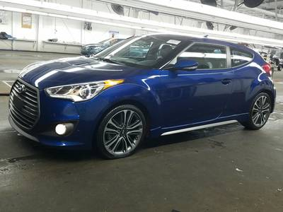 Used HYUNDAI VELOSTER 2017 WEST PALM TURBO