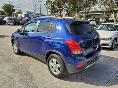 Used CHEVROLET TRAX 2017 WEST PALM LT