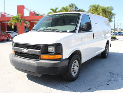 Used CHEVROLET EXPRESS-CARGO-VAN 2010 WEST PALM