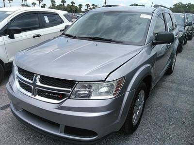 Used DODGE JOURNEY 2017 WEST PALM SE