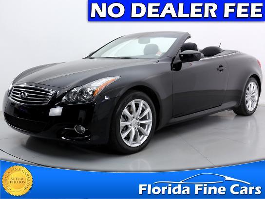 Used 2012 INFINITI G37 Sport Convertible For Sale In MIAMI, FL | 67678 |  Florida Fine Cars