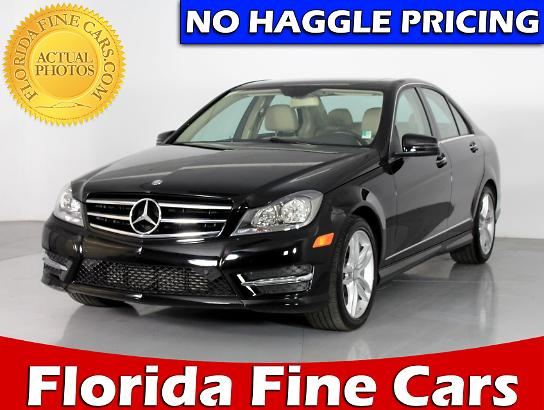 Used 2014 MERCEDES BENZ C CLASS C250 Sedan For Sale In WEST PALM, FL |  81867 | Florida Fine Cars
