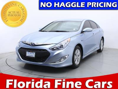 Used HYUNDAI SONATA-HYBRID 2013 HOLLYWOOD