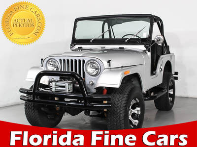 Used WILLYS Cj5 1960 MIAMI