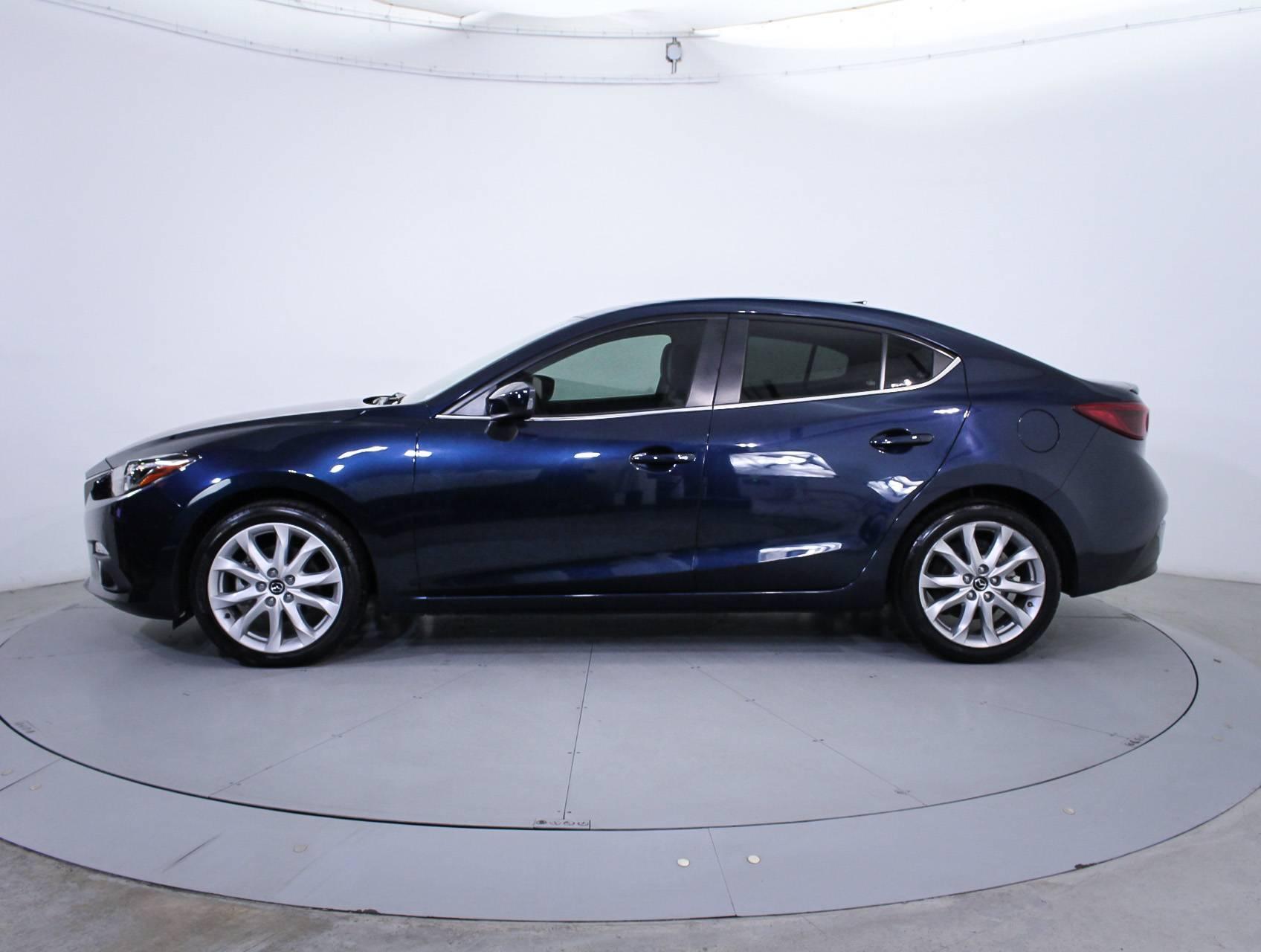 Used 2014 Mazda Mazda3 S Grand Touring Sedan For Sale In Hollywood Fl 84148 Florida Fine Cars