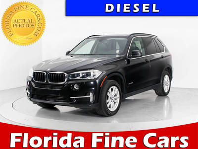 Used BMW X5 2014 WEST PALM XDRIVE35D