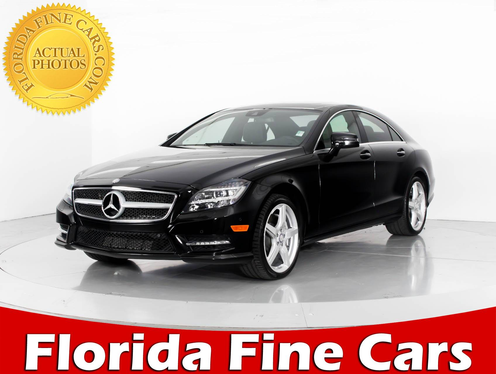 Used 2014 MERCEDES BENZ CLS CLASS CLS550 Sedan For Sale In MIAMI, FL |  84328 | Florida Fine Cars