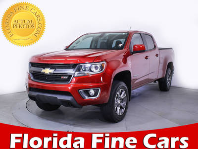 Used CHEVROLET COLORADO 2015 MARGATE Z71 4wd