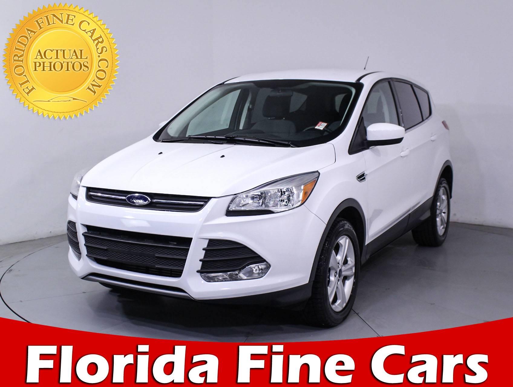 Used 2016 FORD ESCAPE Ecoboost Se SUV for sale in MIAMI FL