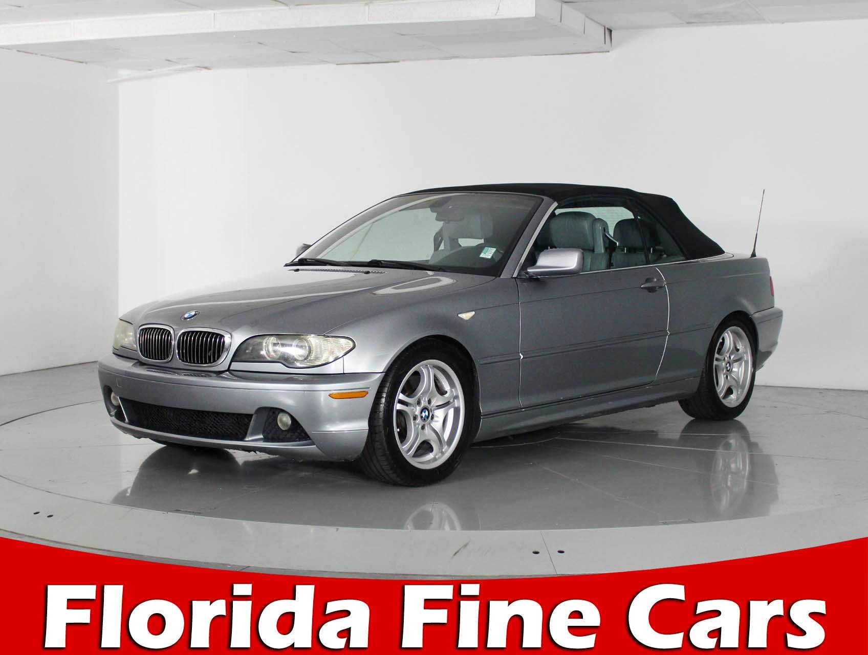 Used 2004 BMW 3 SERIES 330CIC Sedan for sale in WEST PALM FL
