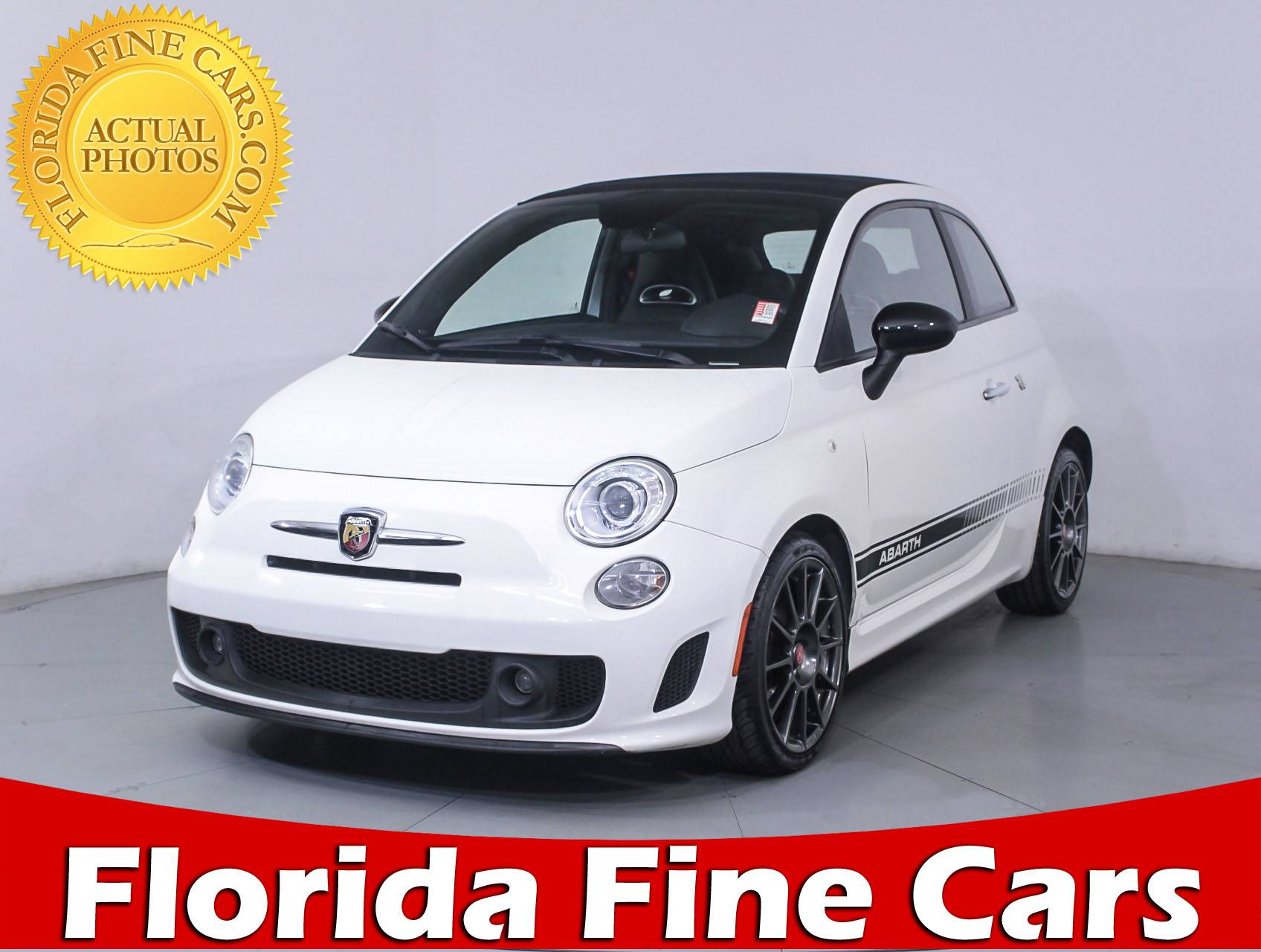 Used 2013 FIAT 500 ABARTH Convertible for sale in MIAMI FL