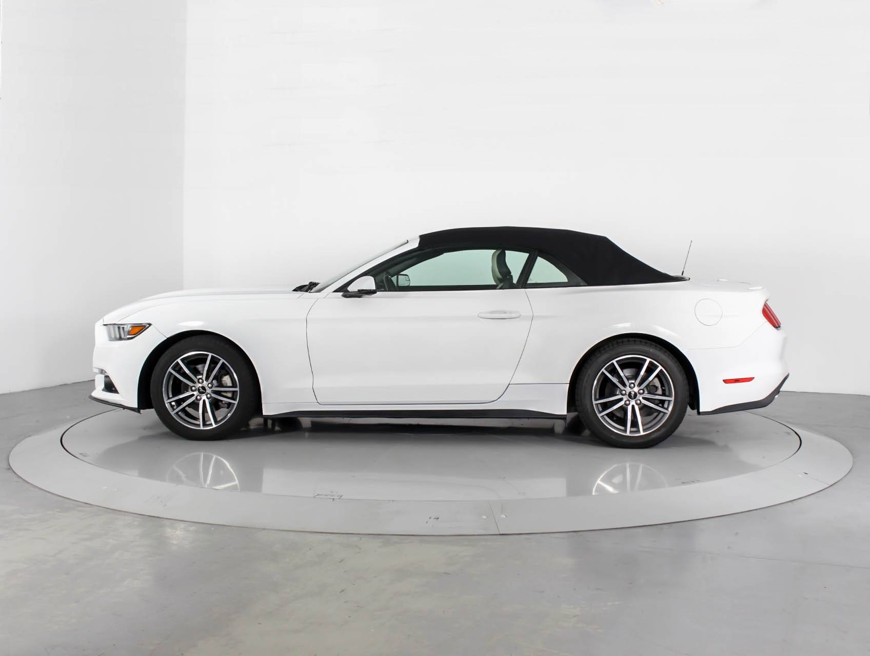 Used 2015 Ford Mustang Ecoboost Premium Convertible For Sale In Miami Fl 85243 Florida Fine Cars