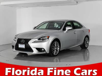 Used LEXUS IS-250 2015 MIAMI Awd