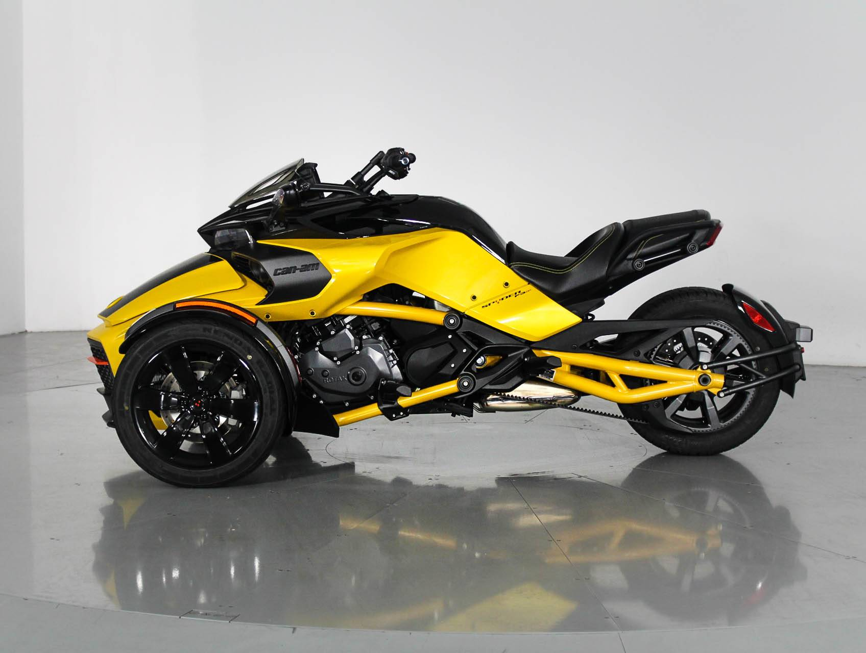 Used 2017 Can Am Spyder Daytona 500 Motorcycle For Sale In West Palm