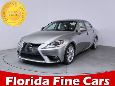 Used LEXUS IS-250 2014 HOLLYWOOD
